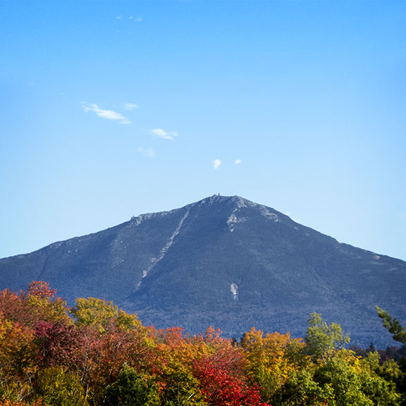 Adirondack Geology: Whiteface Mountain from Route 86 in Lake Placid (5 October 2015)