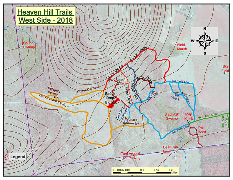 Adirondack Nature Trails: Heaven Hill Trails | Trail Map and ...